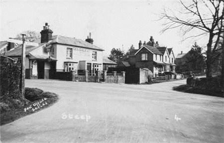 The Cricketers Inn, Steep