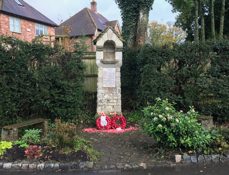 Remembrance: The Names of those from Steep who Died