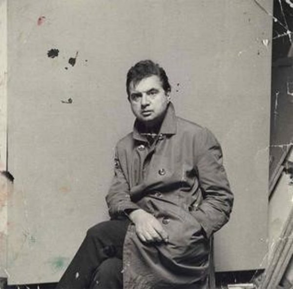 Artist Francis Bacon and Steep