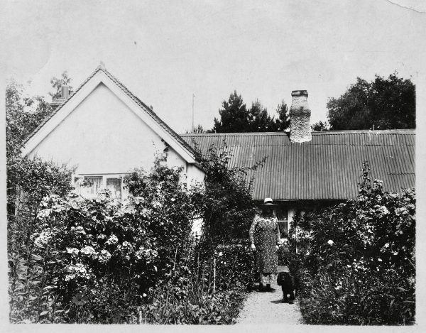 Rose Cottage, Steep, July 1937, from an Australian relative of Ifould Family