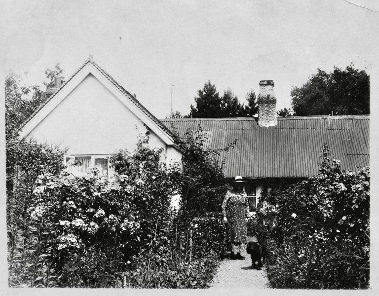 Rose Cottage and Myrtle Cottage: two small labourers' cottages in Church Road, Steep