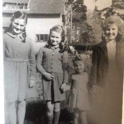 Anne Hagborg née Slater – Memories of Steep in 1940-50s