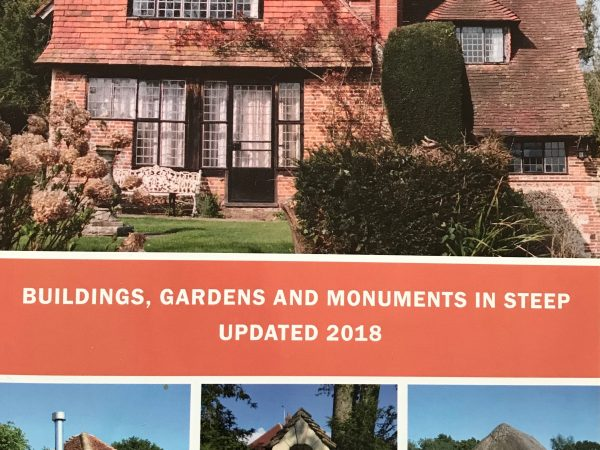 Buildings, Gardens & Monuments in Steep updated 2018 book