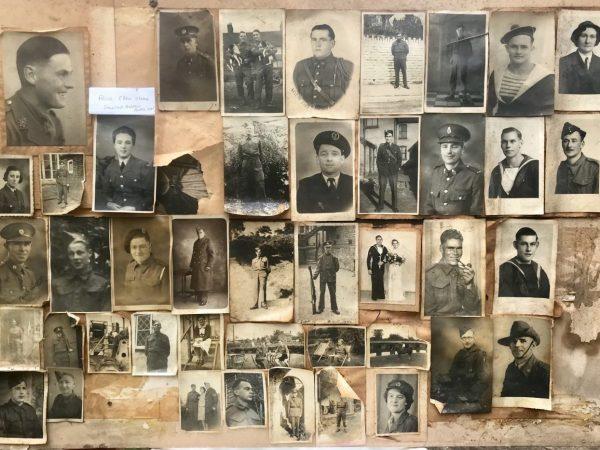 WWII servicemen